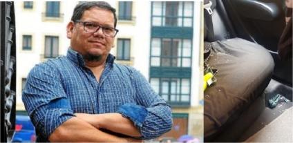 Donny Reyes, defensor de la comunidad LGTBI,  sufrió diferentes hechos de violencia
