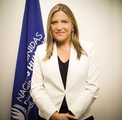 Isabel Albaladejo Escribano-Representante de OACNUDH: Lamentablemente hay iniciativas regresivas de derechos humanos en Honduras