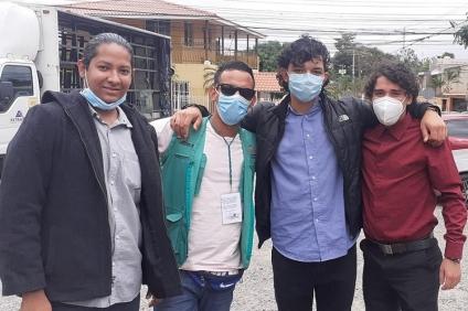 Caso de cinco jóvenes enjuiciados: Sistema de justicia usa el derecho penal para detener las protestas en Honduras