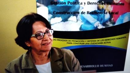 Adelina Vásquez: No vamos a tener un cambio en el 2021 para el respeto a los DDHH