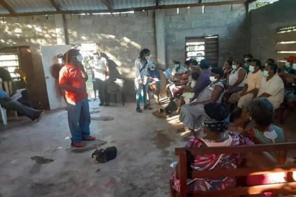 Garífunas ejercen el derecho de asociación y reunión desafiando la persecución y la muerte